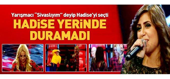 O Ses Türkiye'de Hadise sevinçten döktürtü ve oynadı