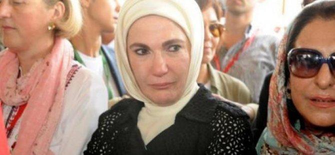 Emine Erdoğan'dan üçüz bebeklere ev