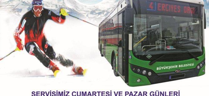 KAYAK SEVERLER ERCİYES'E OTOBÜS SEFERLERİ BAŞLIYOR