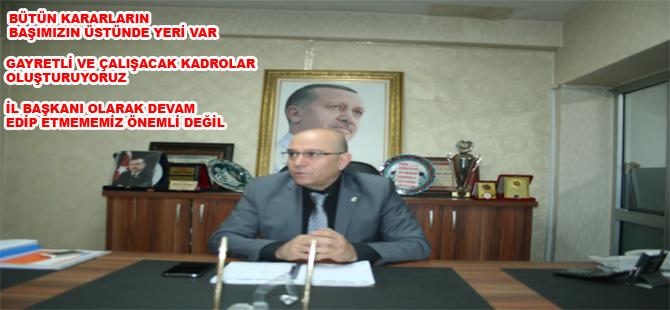 """HÜSEYİN CAHİD ÖZDEN """"GECE GÜNDÜZ"""" ÇALIŞIYOR"""