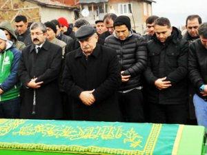 Uğur Boral'ın vefat eden babası toprağa verildi