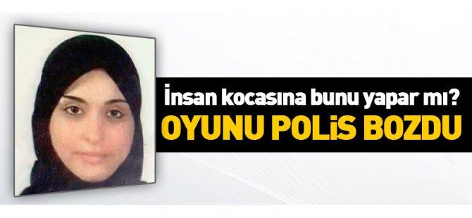 Suriyeli kadının oyununu Ankara polisi bozdu!