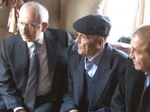 Kılıçdaroğlu'dan Recep dedeye ziyaret