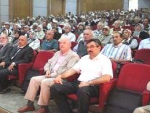 Kayseri'de Hacı Adayları Hac Konusunda Bilgilendirildi