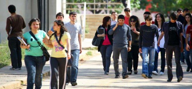 Üniversitede öğrencilerine maaş gibi burs