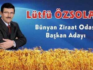 Bünyan Ziraat odası delege seçimlerinde Lütfü Özsolak Rakibine fark attı