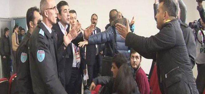 Kayserispor-Osmanlıspor Maç sonunda olaylar çıktı