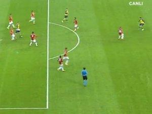 Ramsey'den müthiş gol