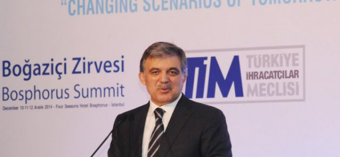 Abdullah Gül'den Tarihi Uyarı