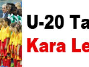 U-20 Tarihinin Kara Lekesi