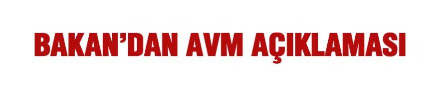Canikli'den AVM açıklaması