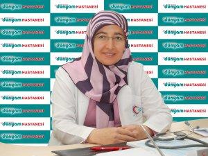 Kayseri Dünyam Hastanesi Dahiliye Uzmanı Dr. Zeliha Göktaş