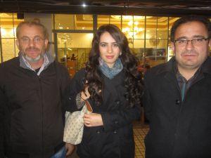 Televizyoncu Sinan Burhan ve ekibi ile Melih Gökçek tartışması