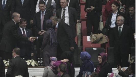 Erdoğan ve Kılıçdaroğlu uzaktan selamlaştılar İZLE