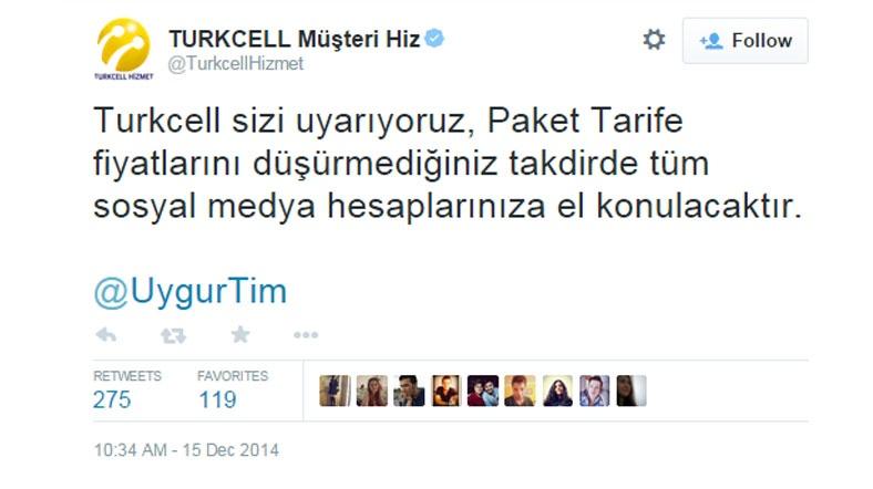 Turkcell'in hesabı hacklendi! 2GB 1 TL oldu!