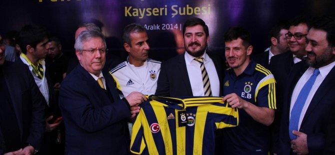 Kayseri'de Fenerbahçe Gecesi