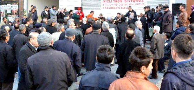 Kayseri'de Hızlı Tren Kavgası