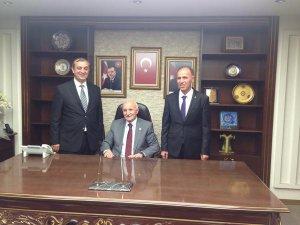 Yaşar Kareyel'den Yeni Başkanlara ziyaret