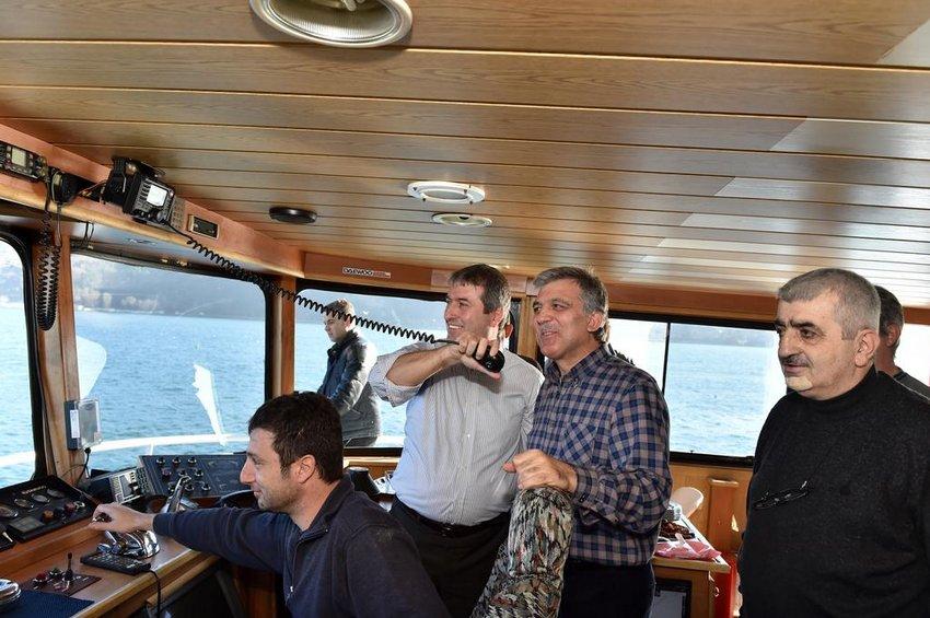 Abdullah Gül'ün Balık Keyfi