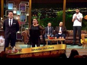 İbrahim Tatlıses Beyaz Show'a bağlandı