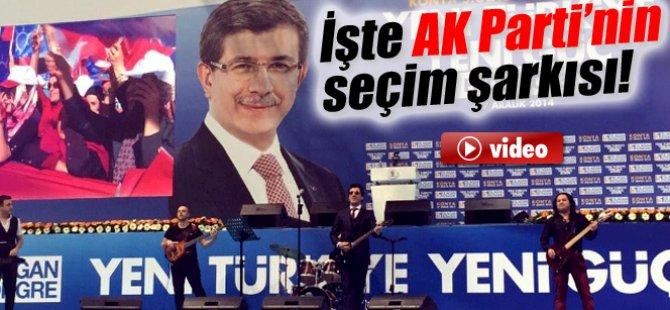 İşte AK Parti'nin seçim şarkısı Davutoğlu Ahmet Hoca-video
