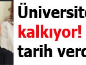 Üniversite sınavı kalkıyor! Bakan tarih verdi