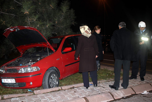 TALAS BULVARI'NDA FECİ KAZA
