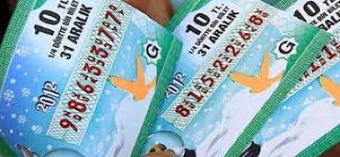 Milli Piyango Yılbaşı Çekilişi 50 milyon lira bu bilete isabet etti