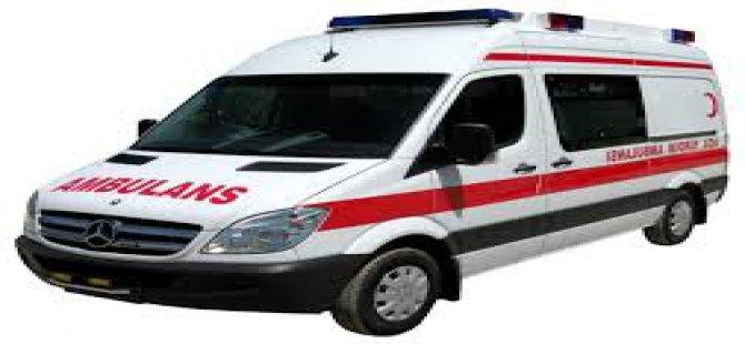 Kayseri'de Ambulansa Pizza Siparişi