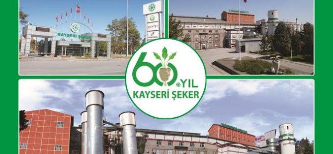 KAYSERİ ŞEKERDEN 60.YILDA  EĞİTİME BÜYÜK DESTEK