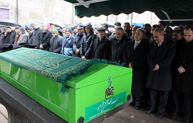 Kayseri'de Hayatını Kaybeden Memur Son Yolculuğuna Uğurlandı