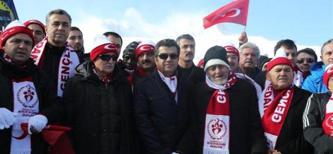 """VALİ DÜZGÜN'DEN """"SARIKAMIŞ"""" TEŞEKKÜRÜ"""