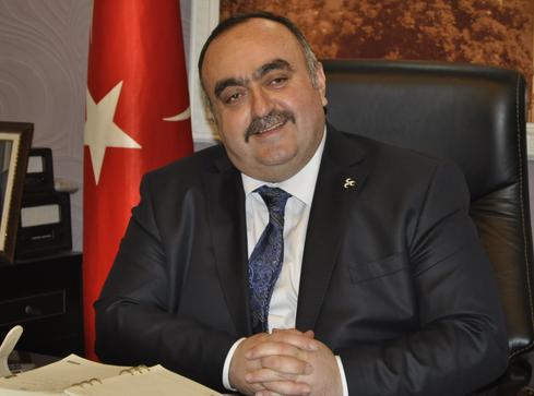 """EKE: """"TOPLANTININ KAYSERİ'DE YAPILMASINDAN DOLAYI ONUR DUYDUK"""""""