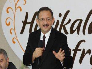 """Özhaseki: """"Siyaset Allah rızası ile yapılmalı"""""""