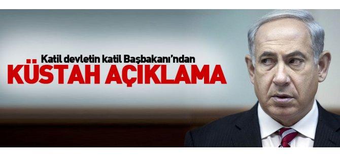 Netanyahu'dan Cumhurbaşkanı Erdoğan'a küstah yanıt