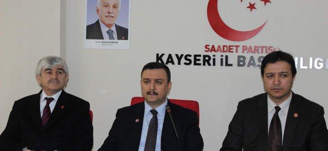 SP GENEL BAŞKAN YARDIMCISI İLYAS TONGÜÇ KAYSERİ'DE