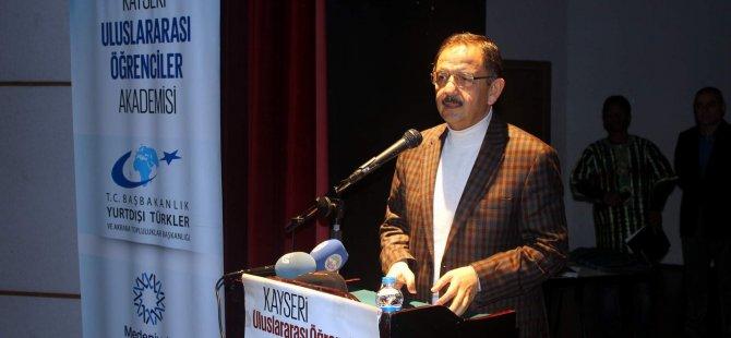 Kadim Kent Kayserİ konulu konferans