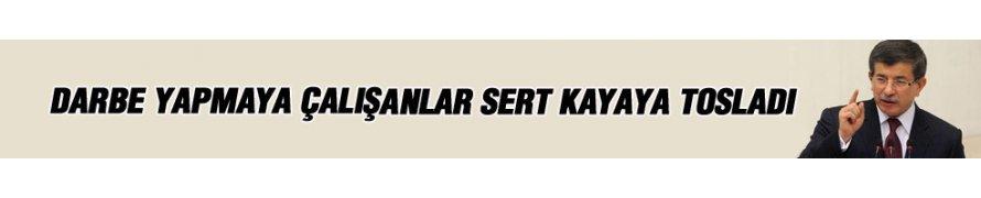 Başbakan Davutoğlu il kongresinde konuştu