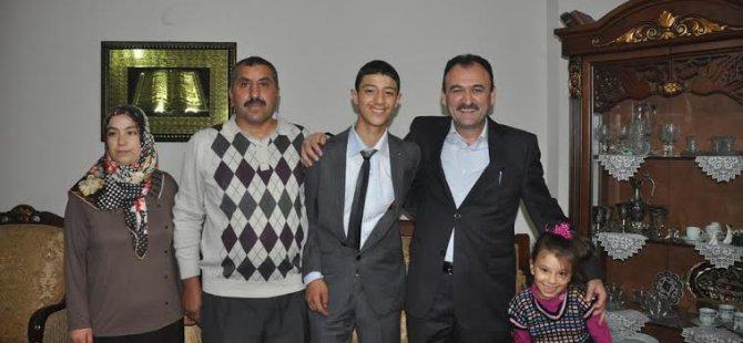 İl Milli Eğitim Müdürü Bilal Yılmaz Çandıroğlu Aile Ziyaretleri