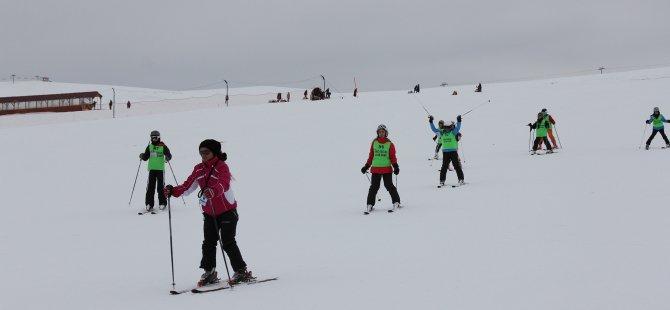 Kayak Severler Erciyes'i tercih etmeye başladı