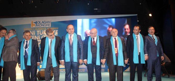 Ak Parti Kayseri 5.olağan kongresini Yaptı
