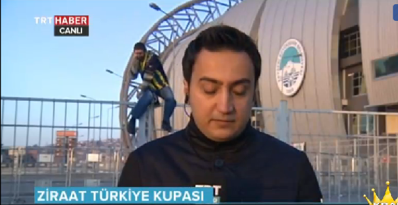 Kadir Has'ta ilginç Fenerbahçeli - VİDEO