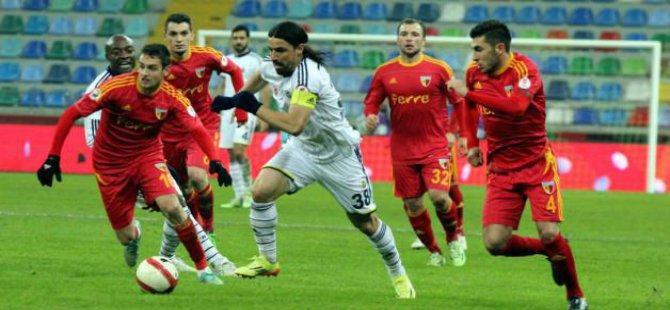 Kayserispor Fenerbahçe ile 1-1 berabere kaldı