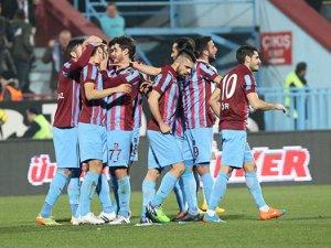 Trabzonspor  Erciyesspor'u 2-1 mağlup etti