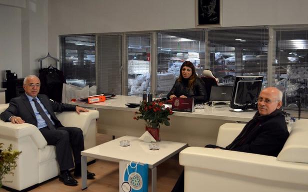 KTO'DAN BERNA İLTER'E HAYIRLI OLSUN ZİYARETİ