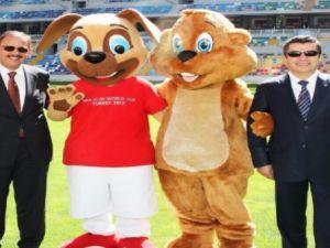 Kayseri'de 20 Yaş Altı Dünya Kupası'na Muhteşem Açılış