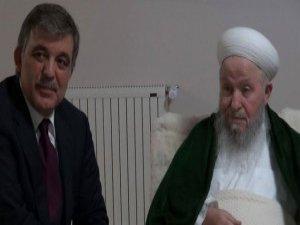 "Gül'den sürpriz ""Mahmut Efendi"" ziyareti"