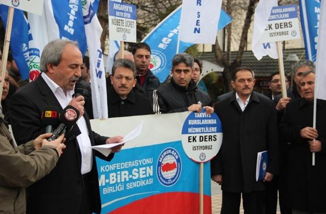 Aydın Kalkan: Karşılıksız nöbet görevine hayır