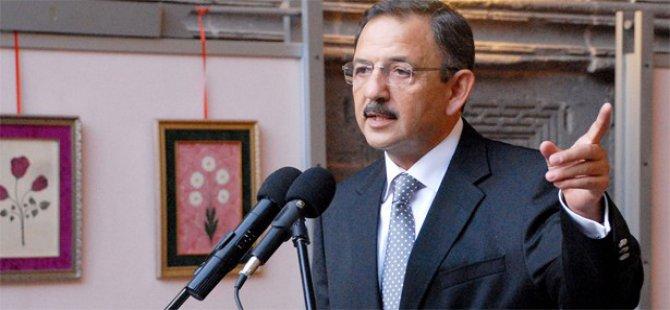 Mehmet Özhaseki istifasını verdi