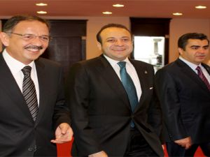 AB Bakanı Bağış Kayseri'yi bu sözlerle tanımladı